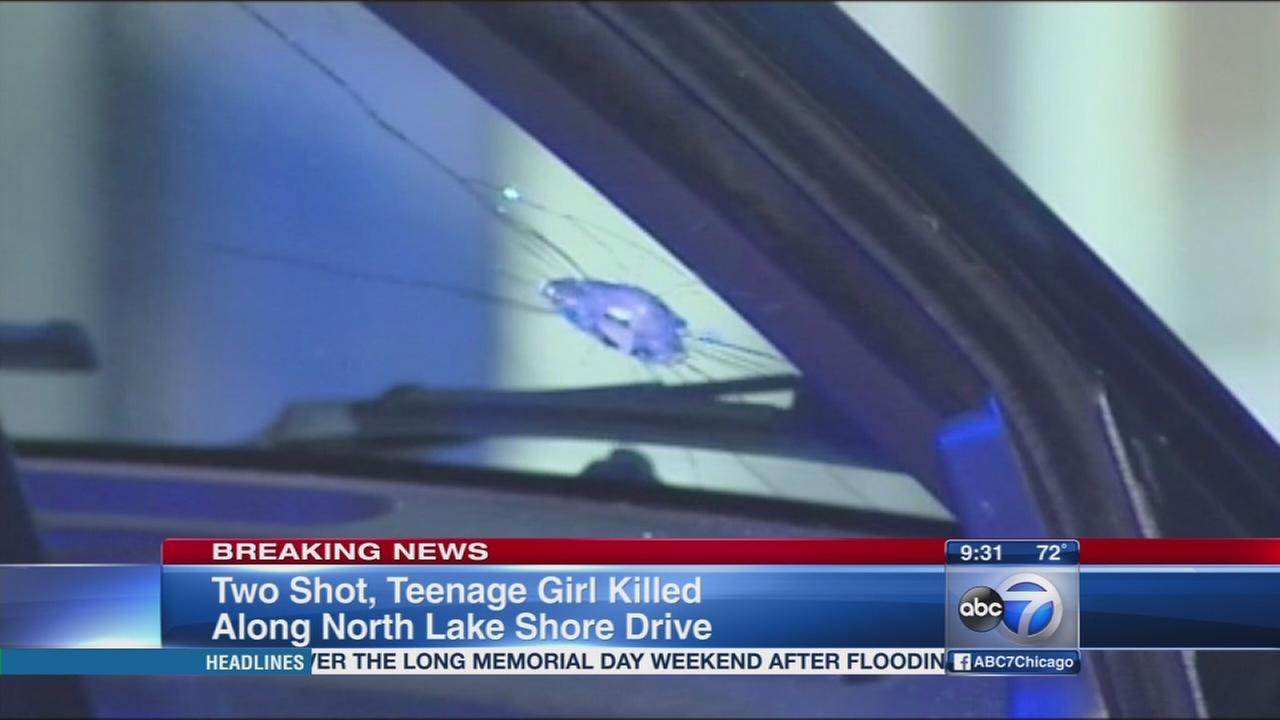 Teen girl killed in Lake Shore Drive shooting