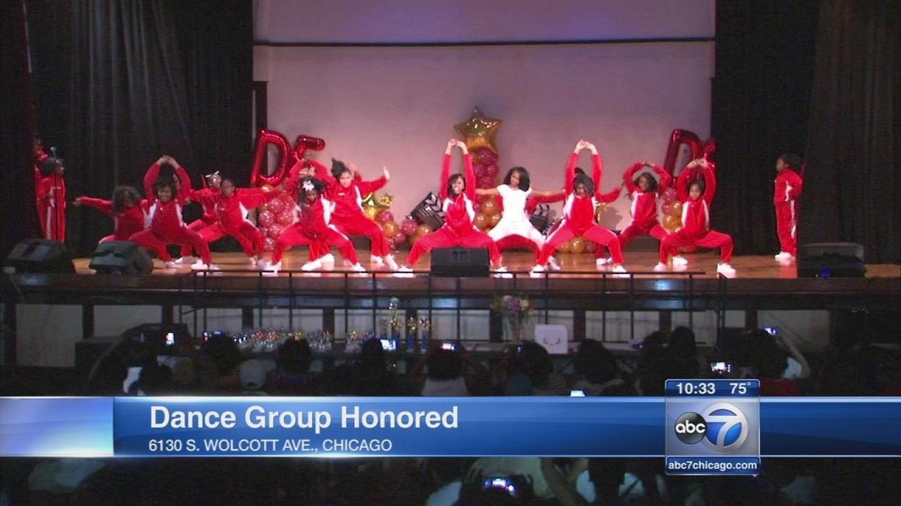 Dance Force honored