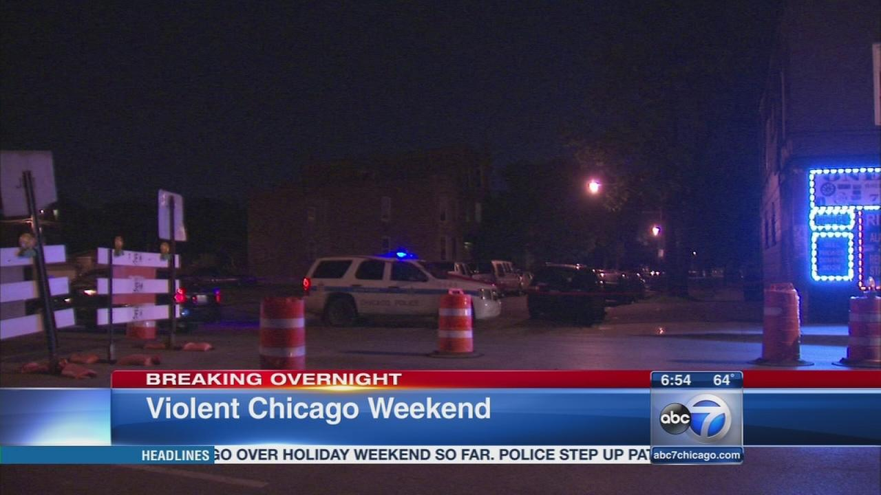 4 dead, 48 wounded in Memorial Day weekend shootings