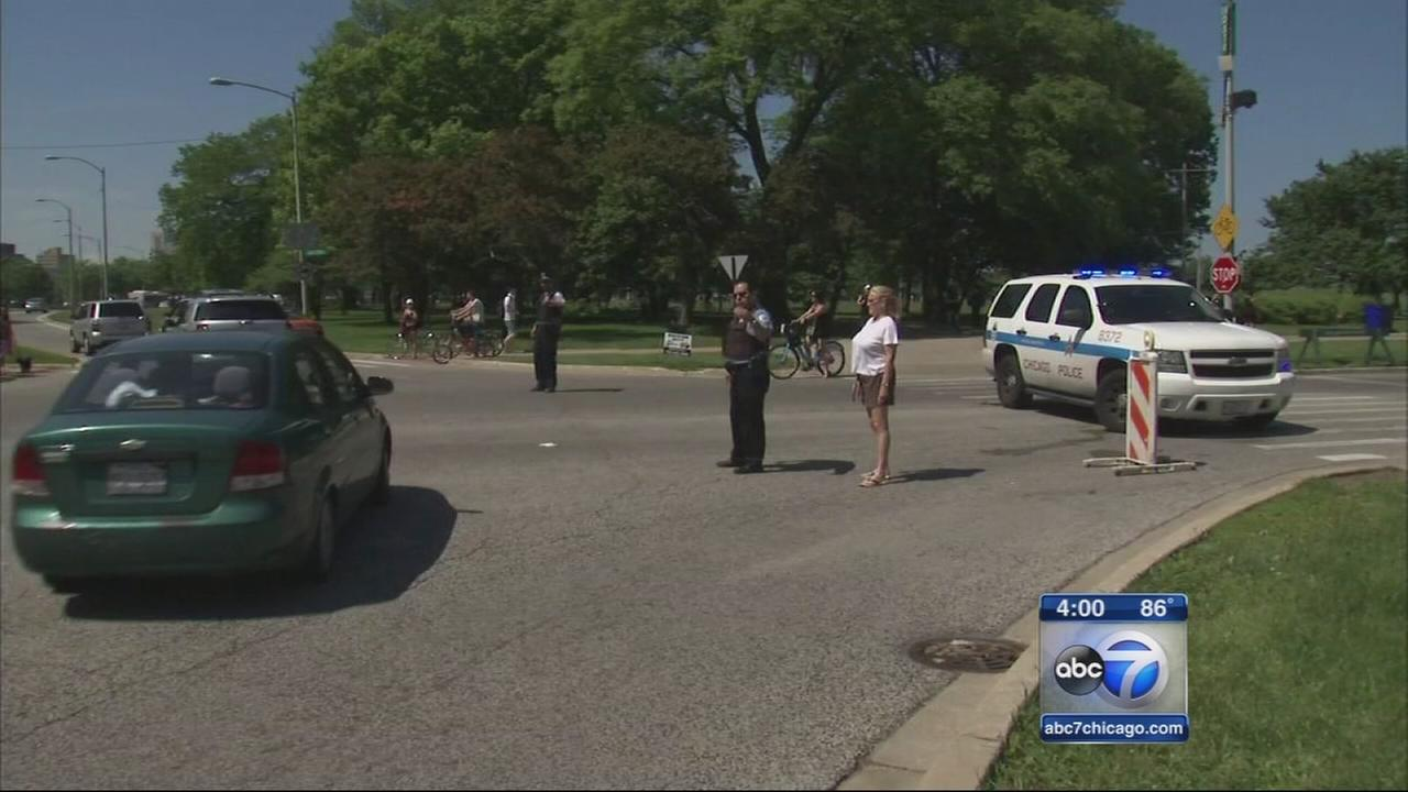 Montrose Beach entrances shut down