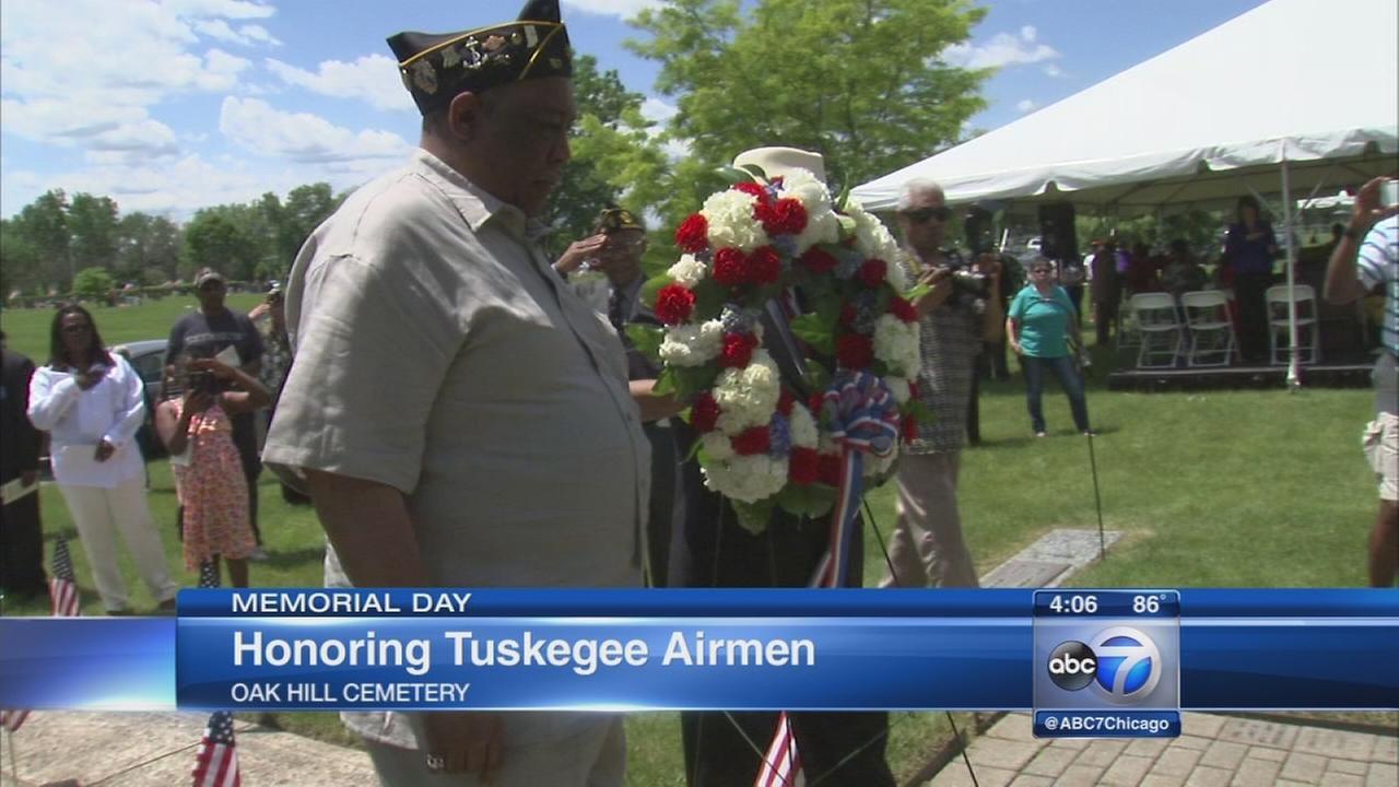 Tuskegee Airmen honored