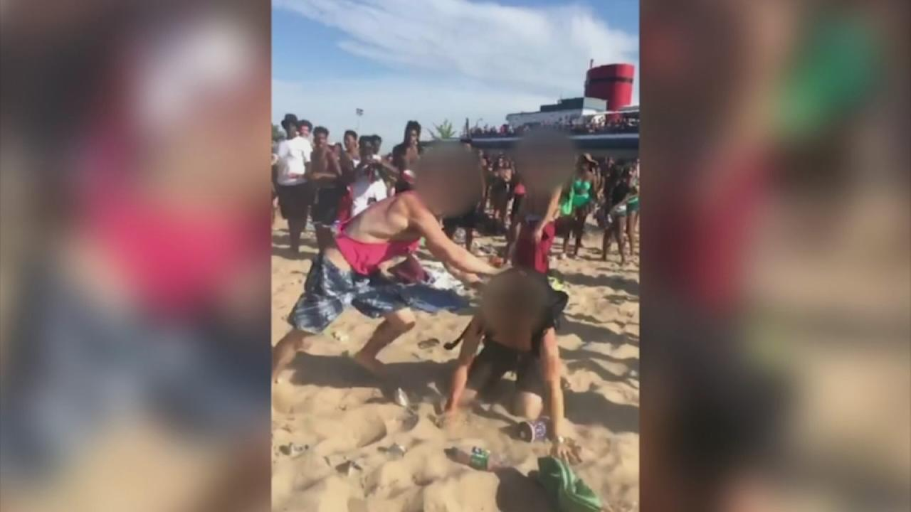 Videos show Memorial Day brawl