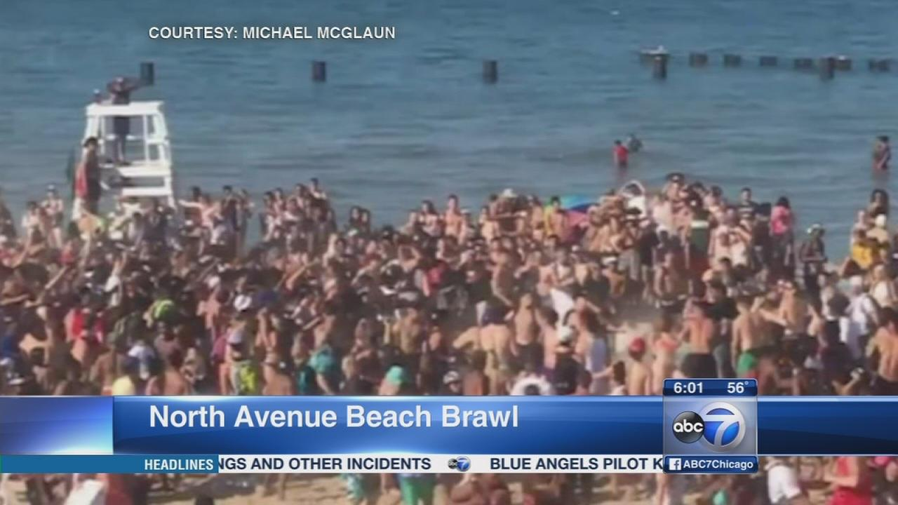 CPD wont increase patrols after massive beach brawl