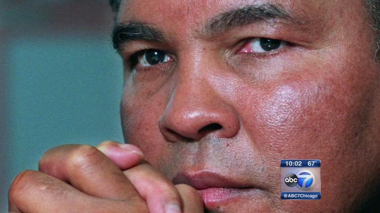 Muhammad Ali dies on Friday