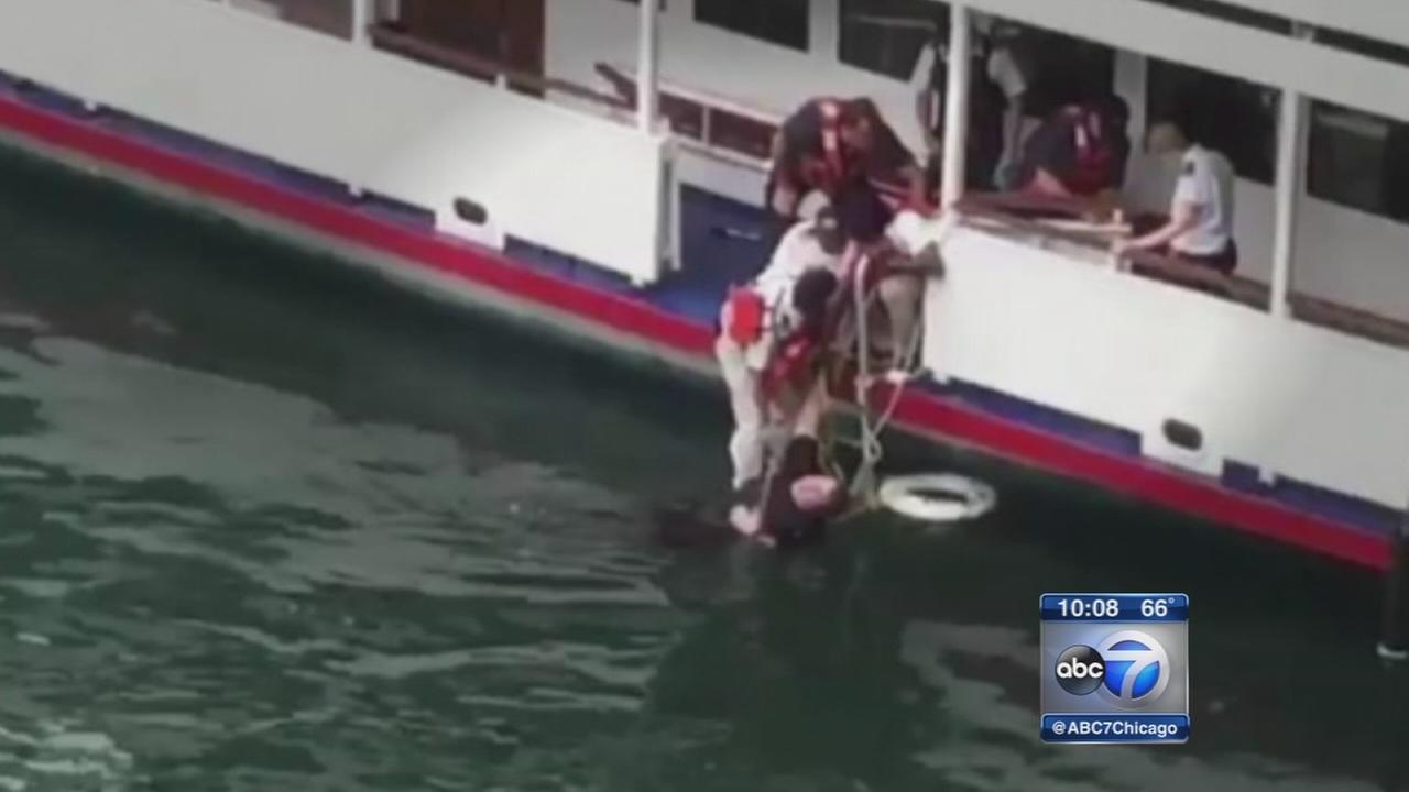 Man pulled from Chicago River