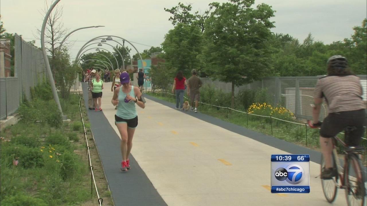606 Trail celebrates 1-year anniversary