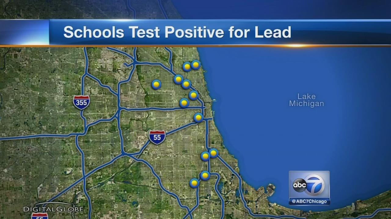 Parents updet as high lead levels detected at CPS schools