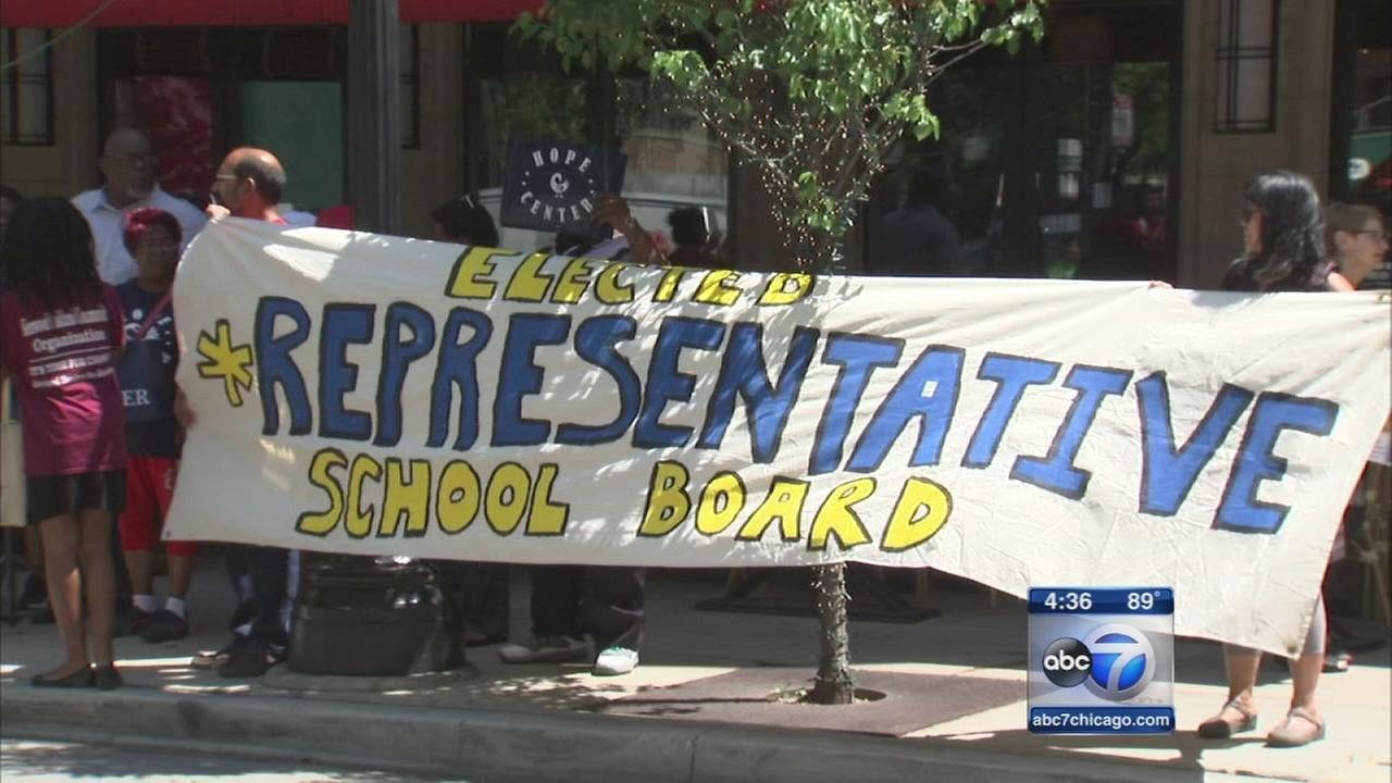 Parents and community pressure lawmakers for elected school board