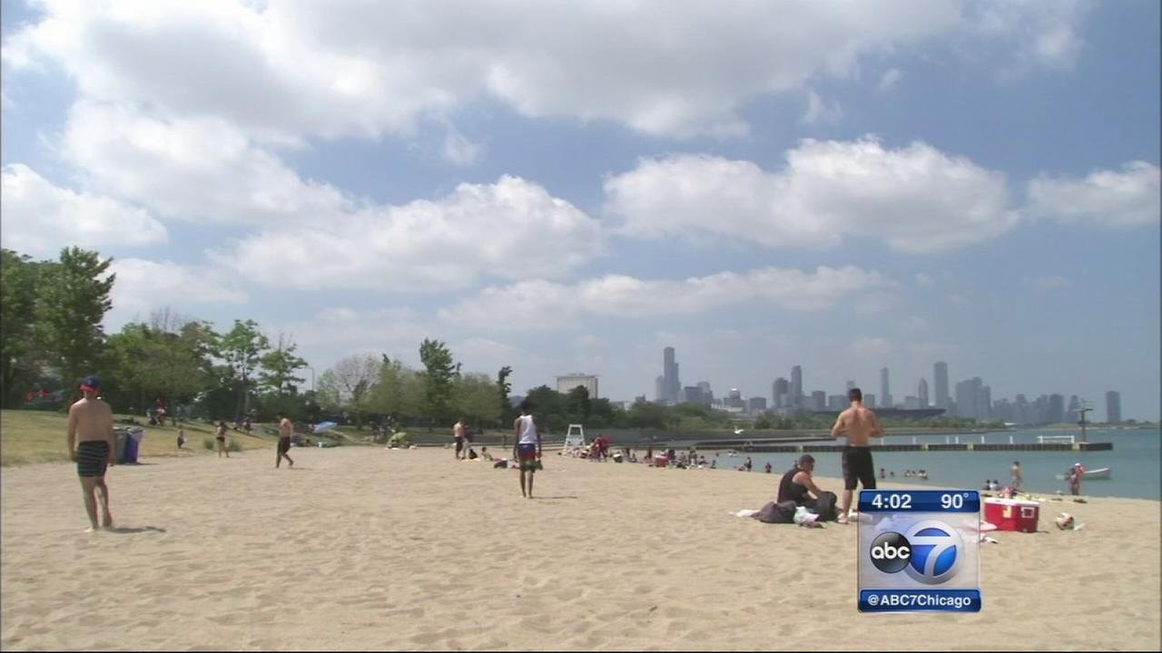 Summer in Chicago off to hot start