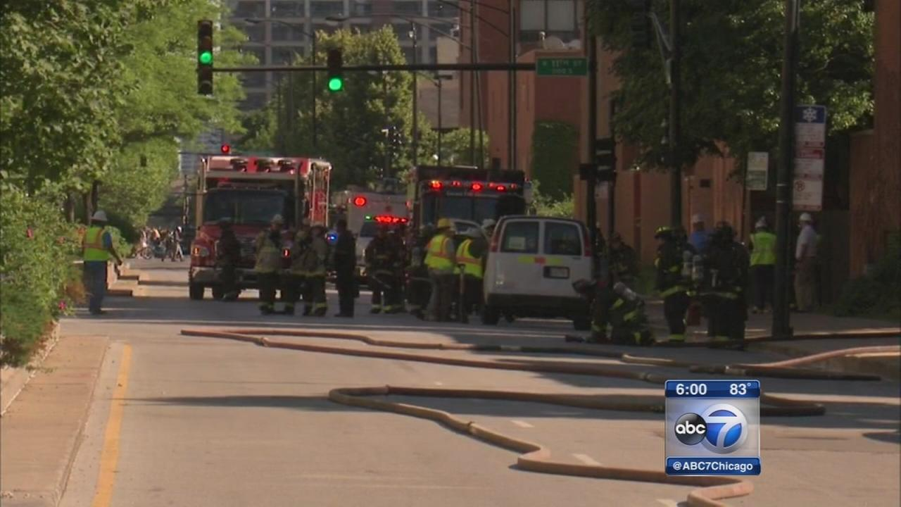 CTA service resumes after South Loop gas leak