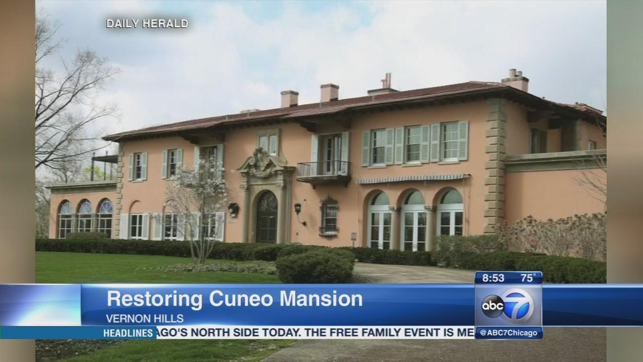 Daily Herald: Cuneo Mansion and Gardens