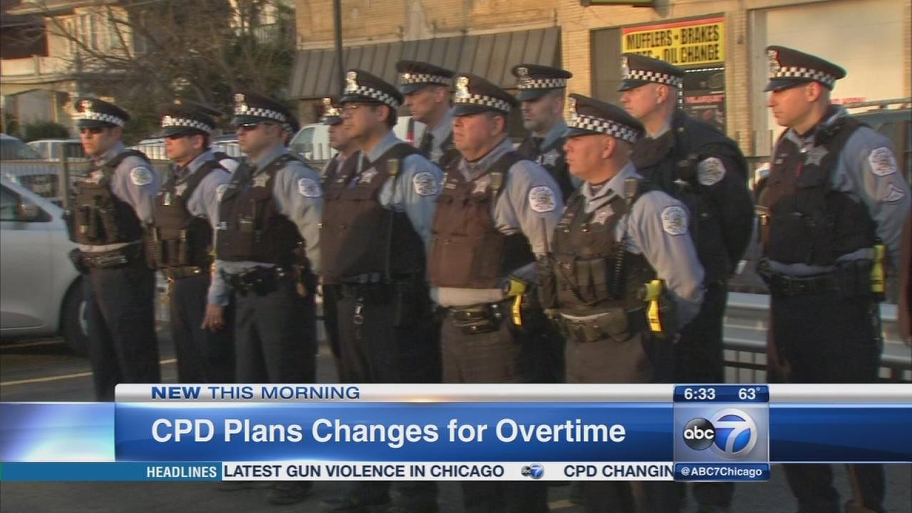 CPD changes overtime policy