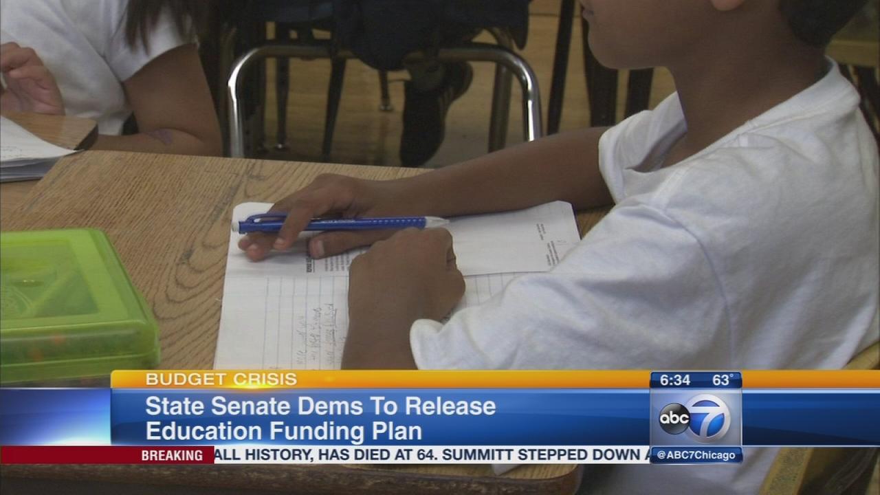 IL Sen Dems present funding plan