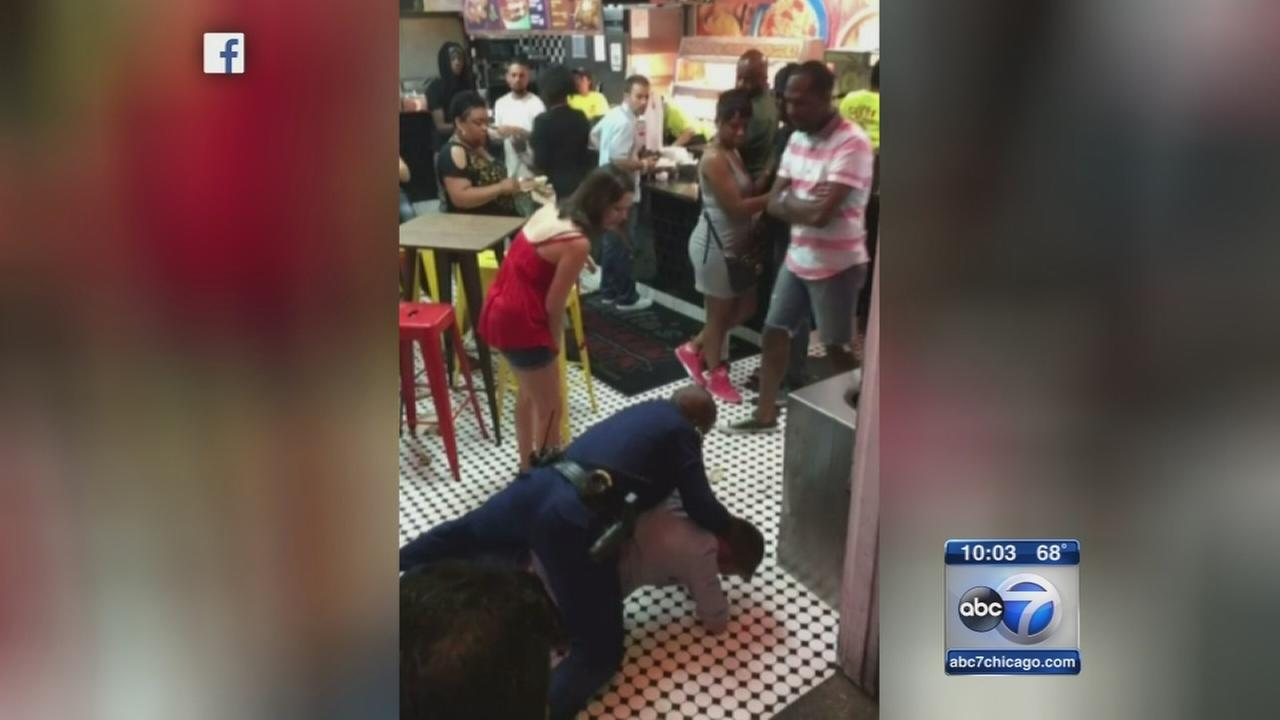 Man in viral Bourbon Street arrest video is Chicago doctor