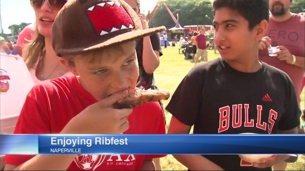 Ribfest opens in Naperville