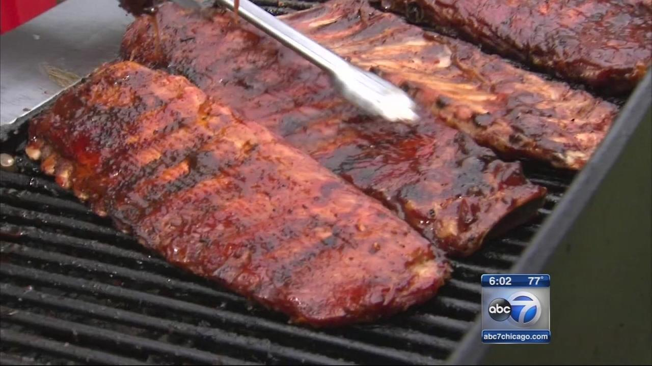 Ribfest ends Monday night with fireworks