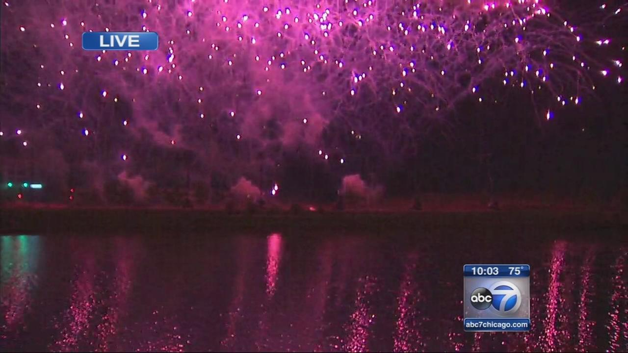 Chicago and suburbs celebrate the 4th of July
