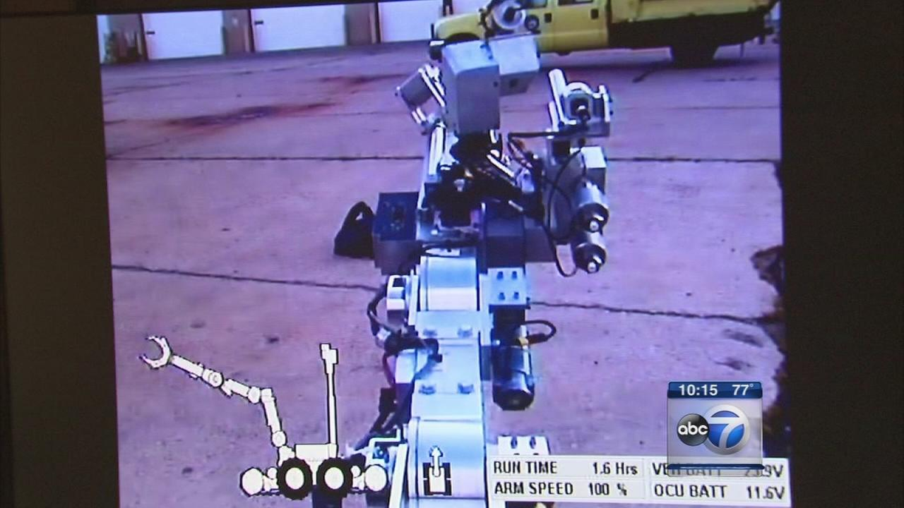 Dallas not alone in robot tactic