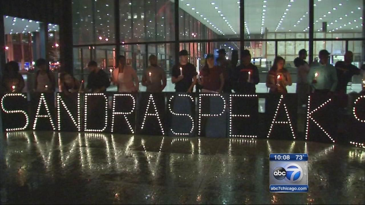 Sandra Bland memorials in Chicago