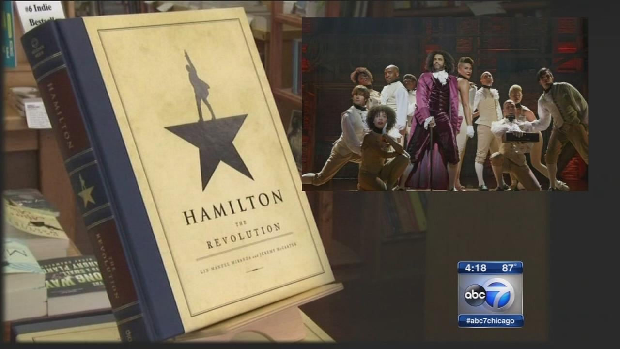 Chicago author takes readers behind-the-scenes of Hamilton