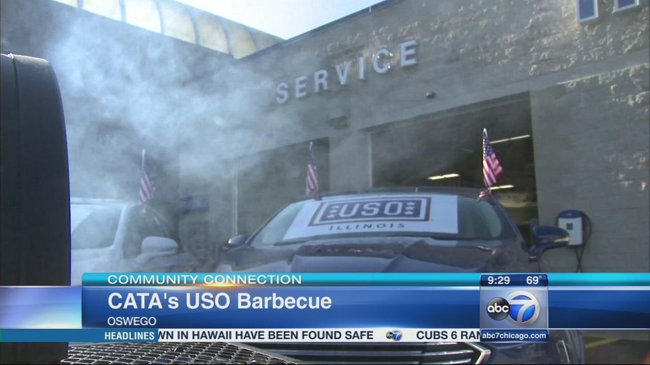 Support the Troops at the CATAs USO Barbecue