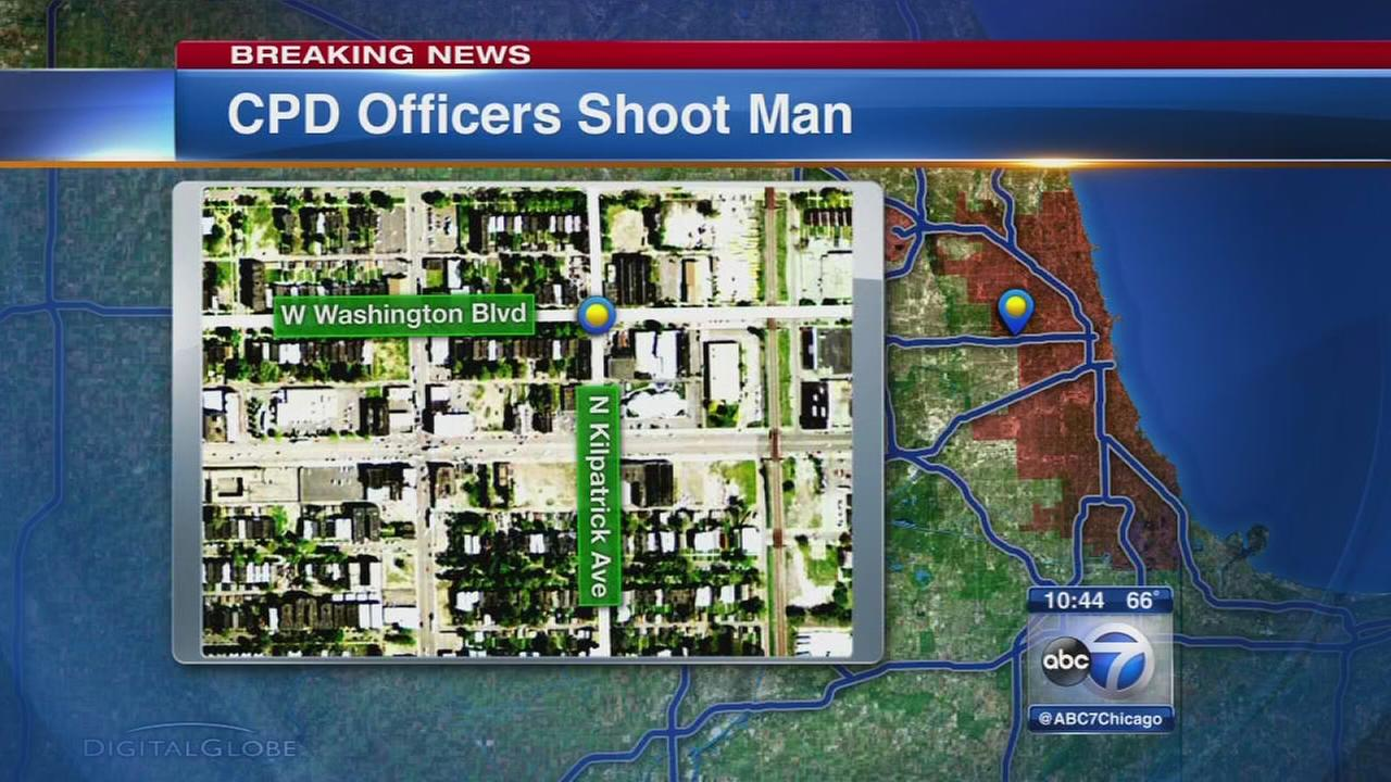 CPD officers shoot man