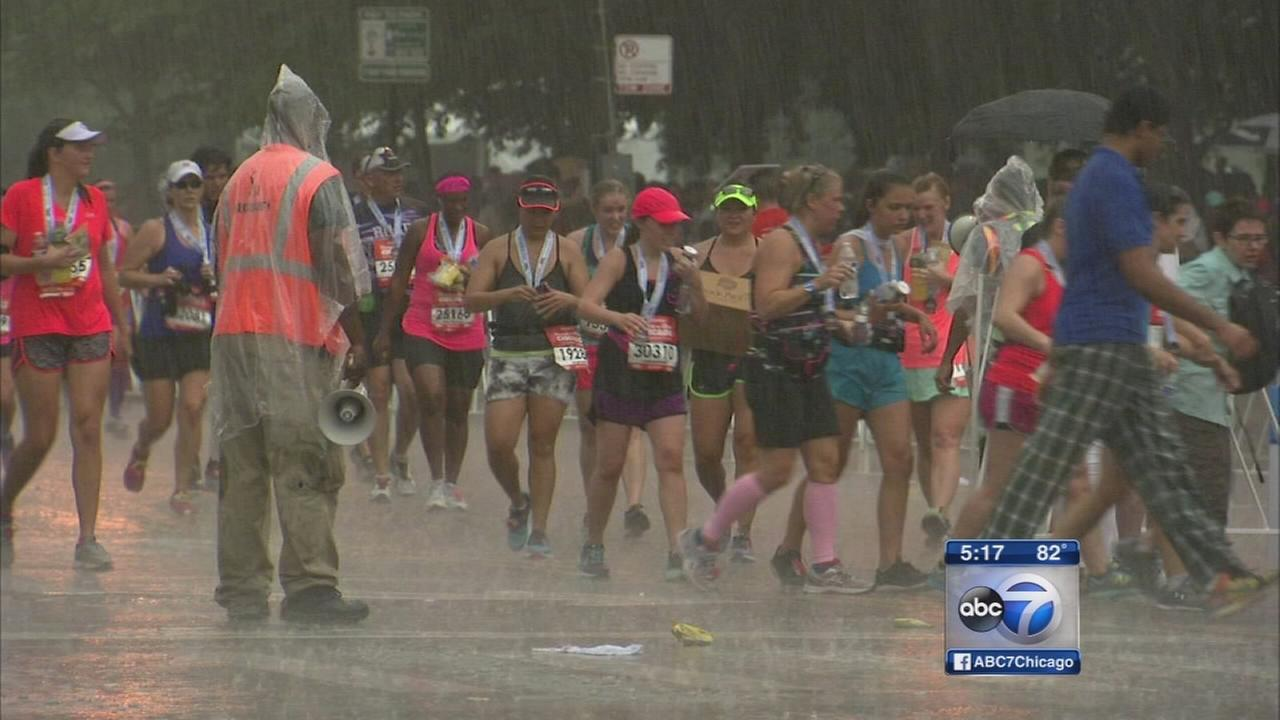 Storms stop Rock N Roll Half Marathon