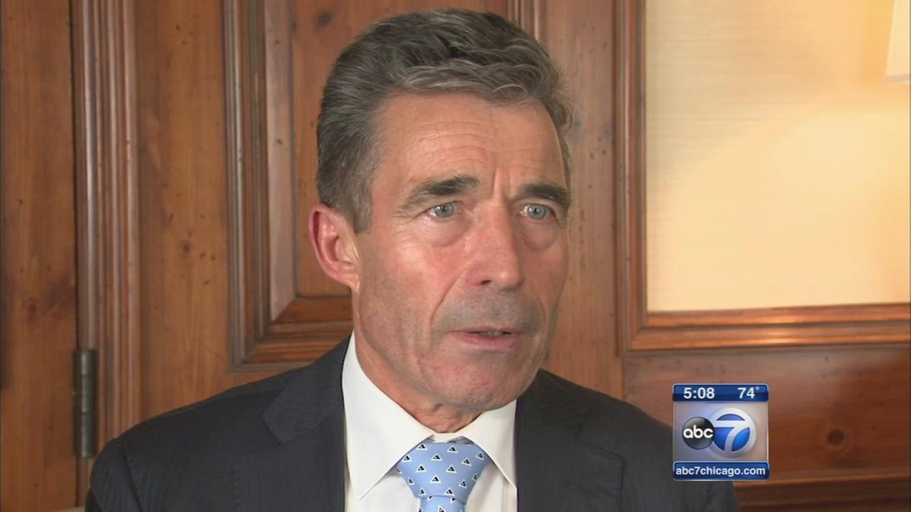 NATO Secretary General in Chicago