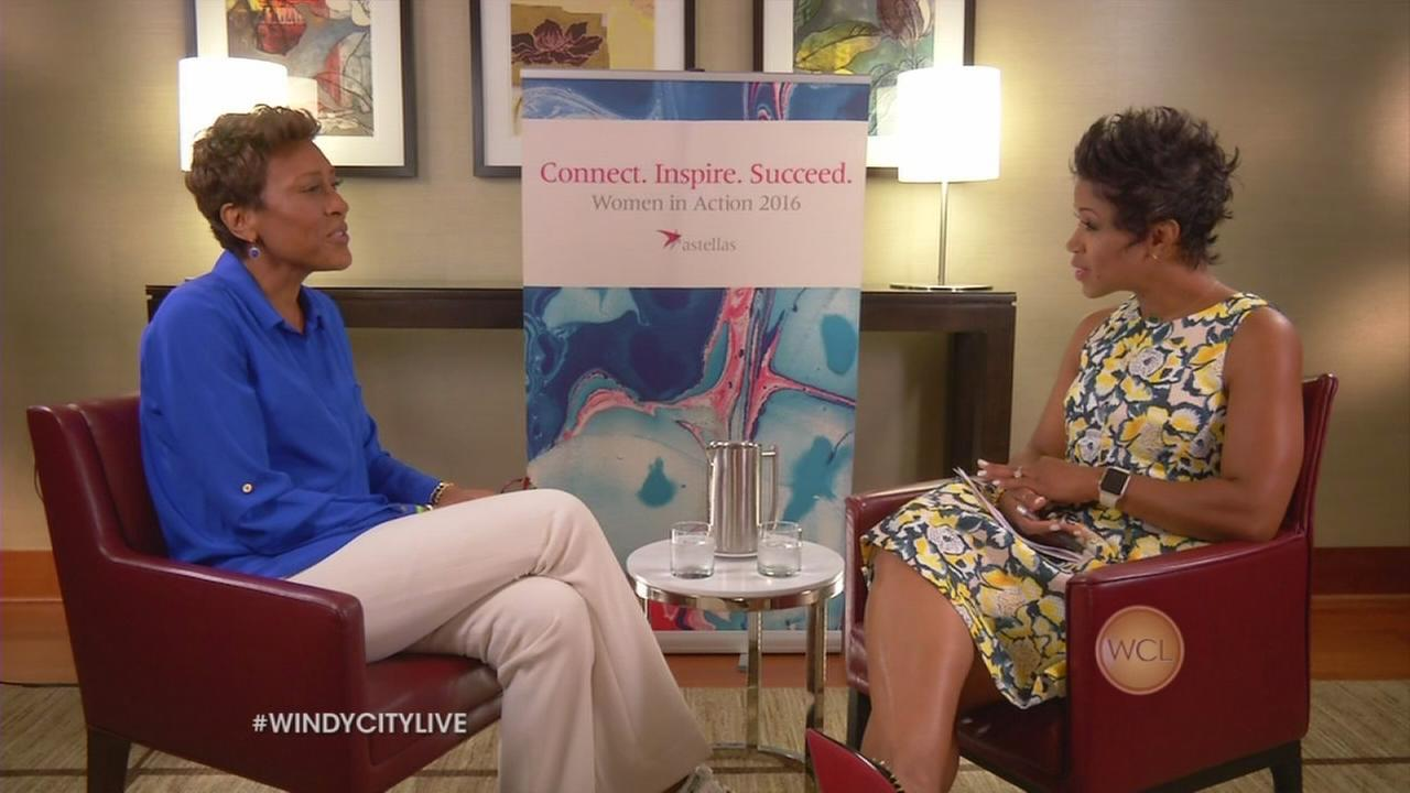 GMA?s Robin Roberts on WCL, Video 1