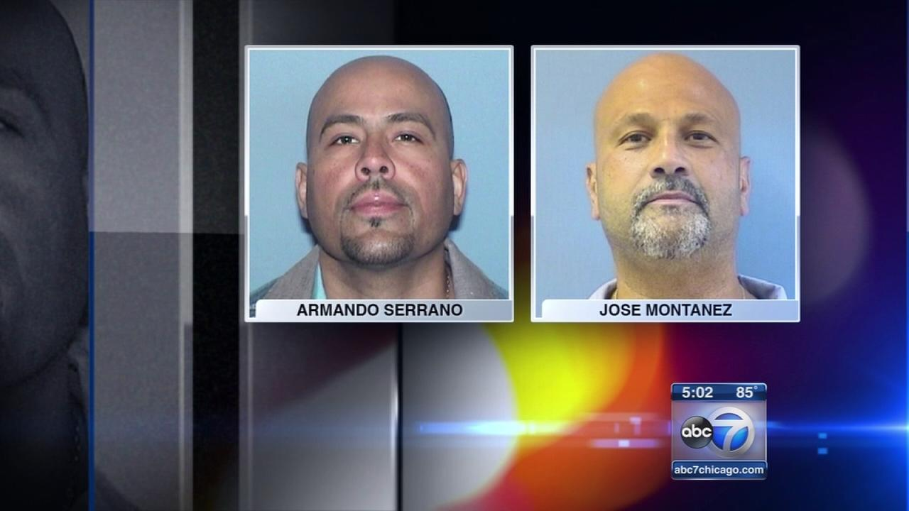 Murder charges dropped for 2 men