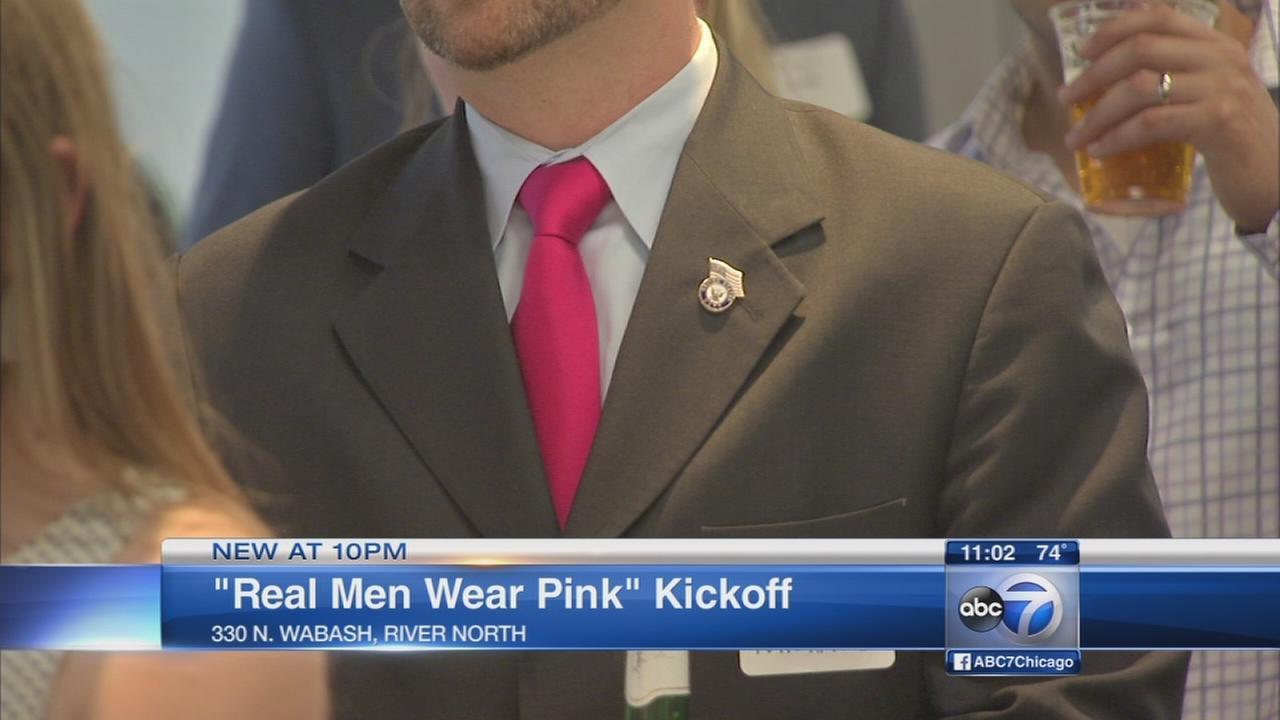 Real Men Wear Pink kicks off in Chicago