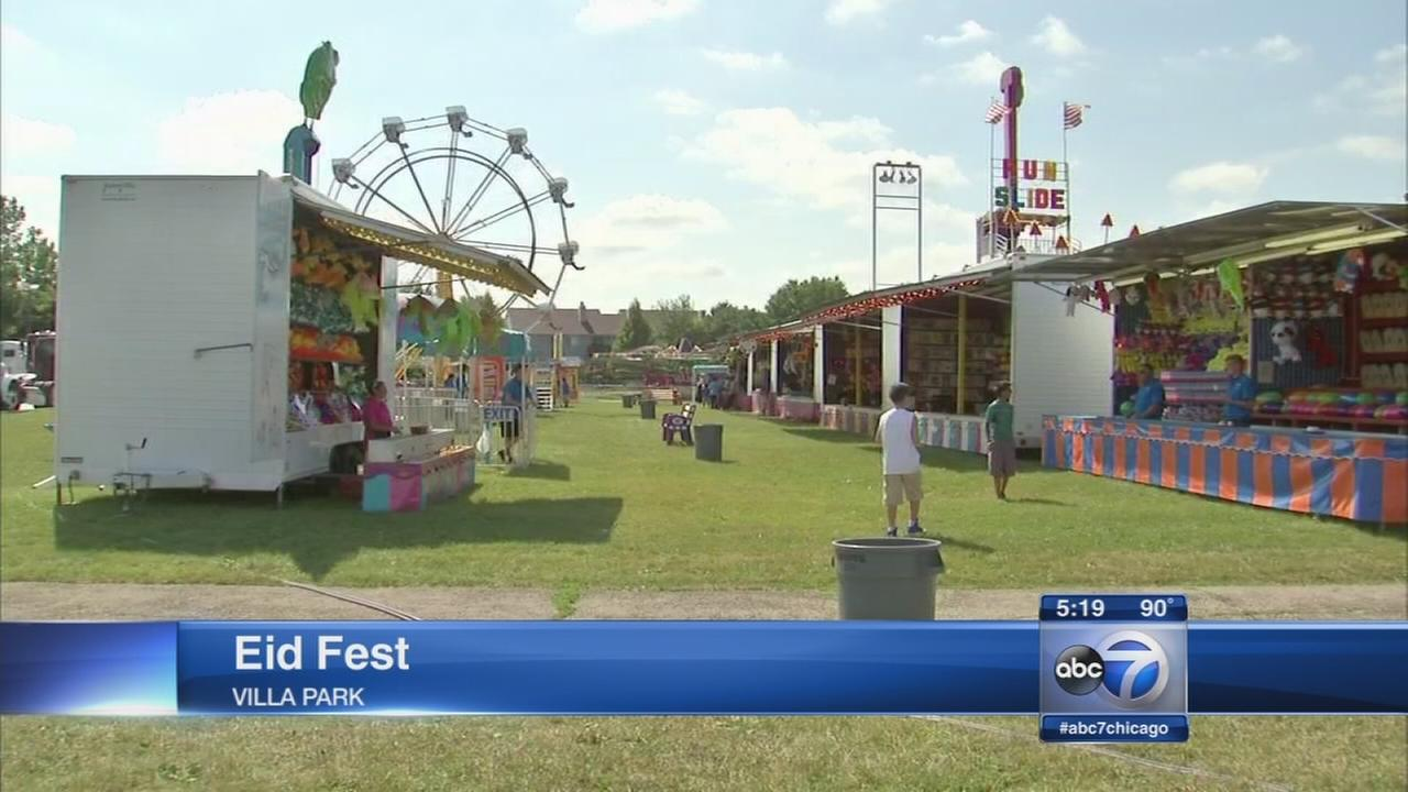 Eid Festival held in Villa Park