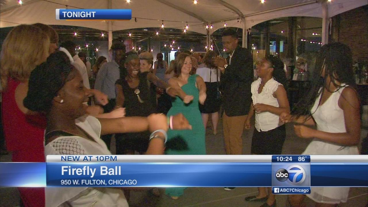 Firefly Ball held