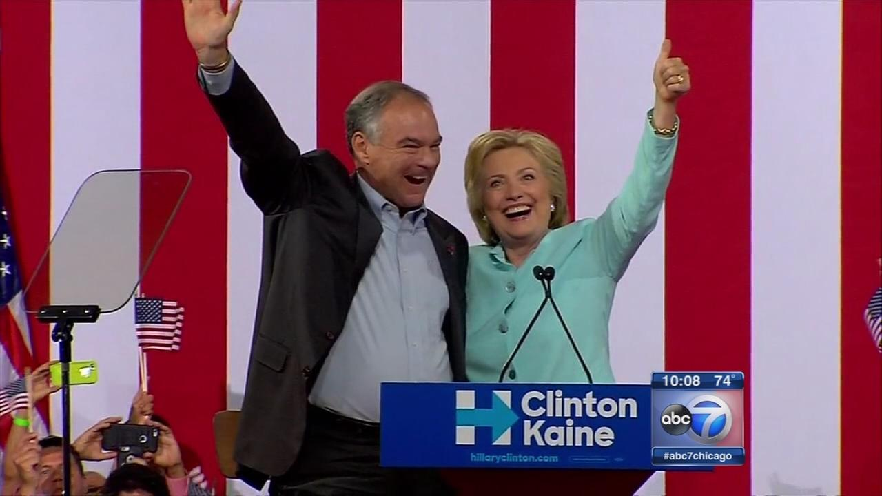 Clinton announces VP pick
