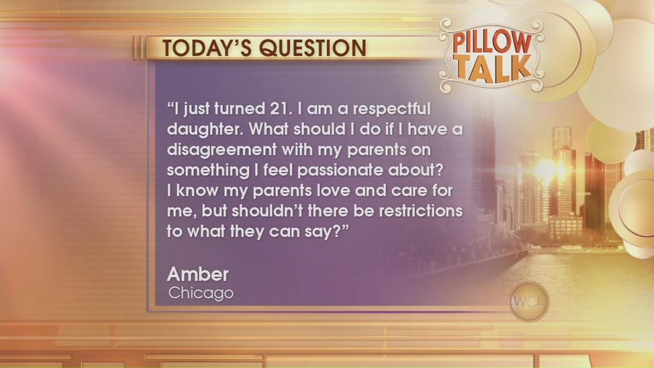 Pillow Talk: Respectful daughter