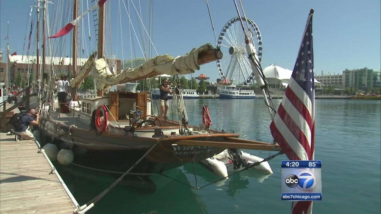 Tall Ships festival blows into Navy Pier