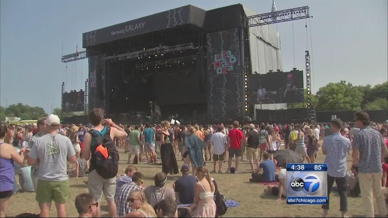 Safety emphasized as city preps for Lollapalooza 2016