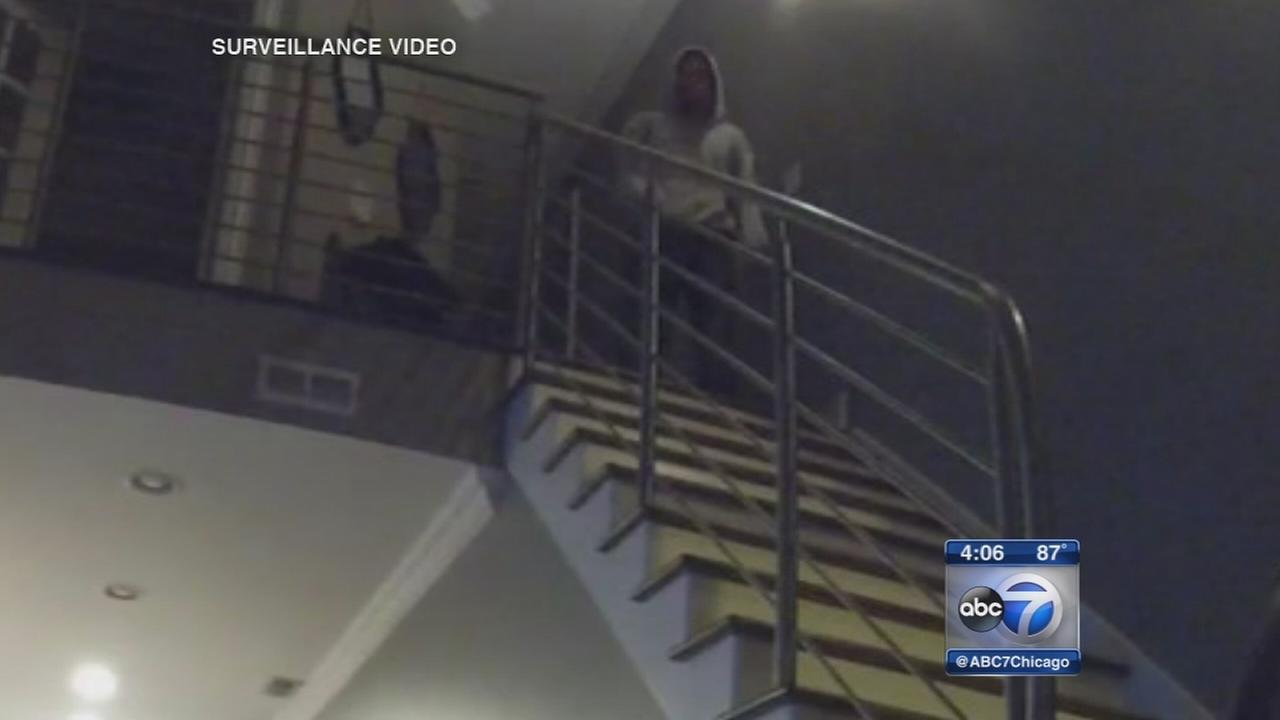 Bucktown burglar caught on video