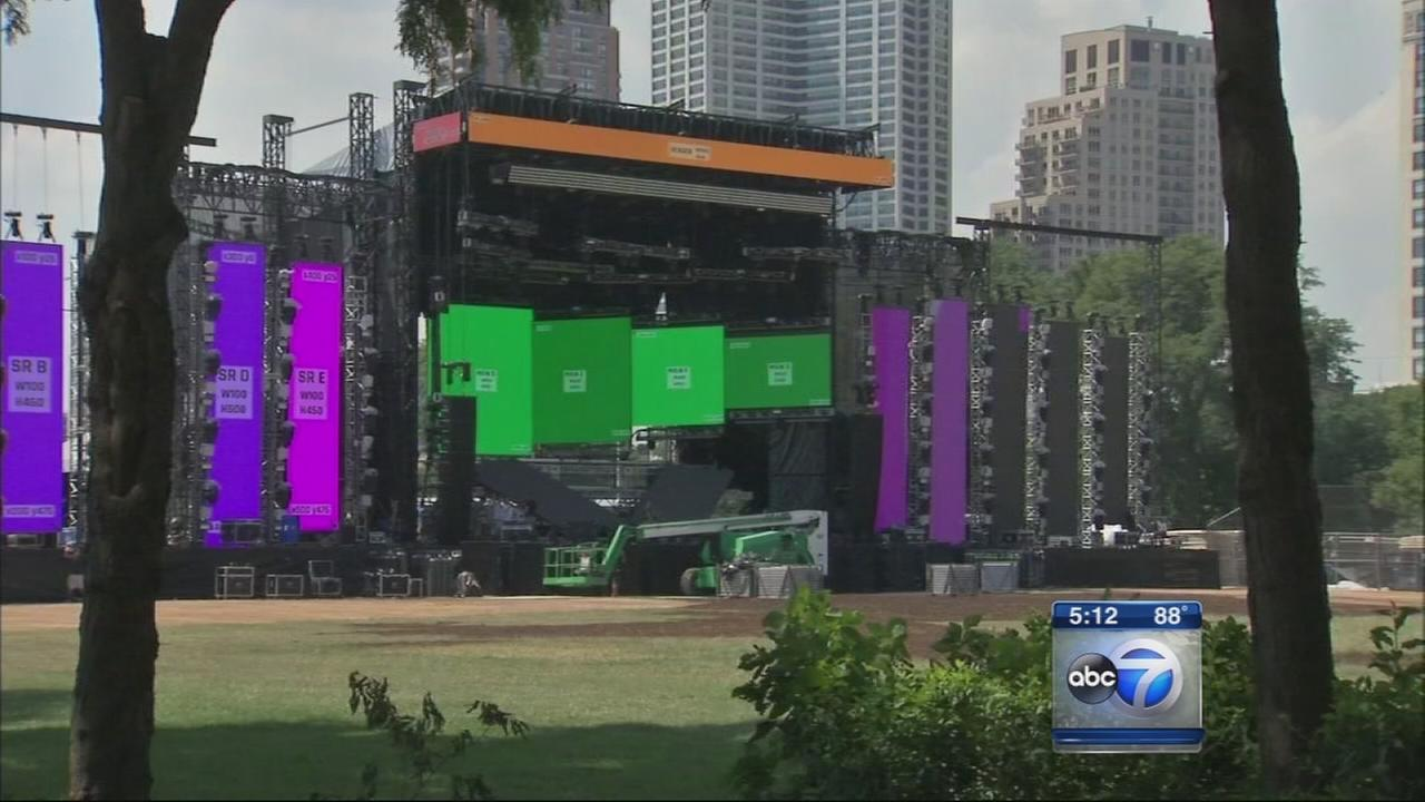 Final preps under way for Lollapalooza?s 25th anniversary