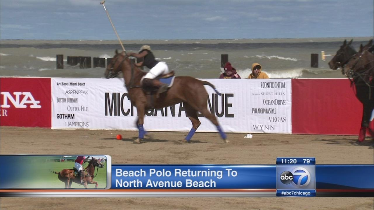 Chicago Beach Polo Cup coming to North Avenue Beach