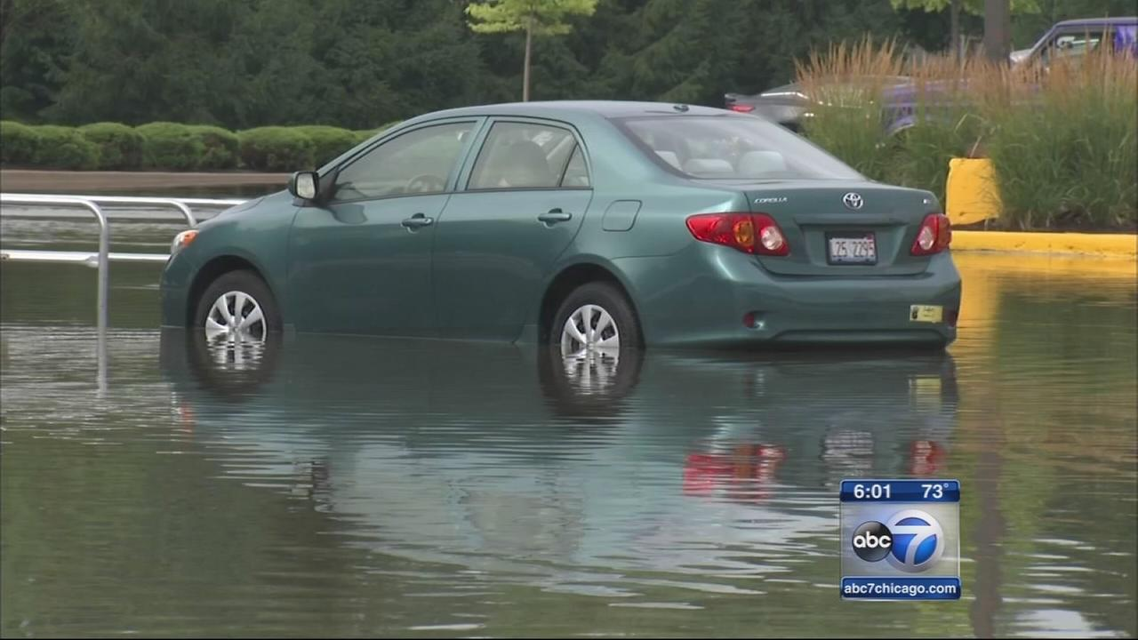 Thunderstorms bring flooding in parts of Chicago area