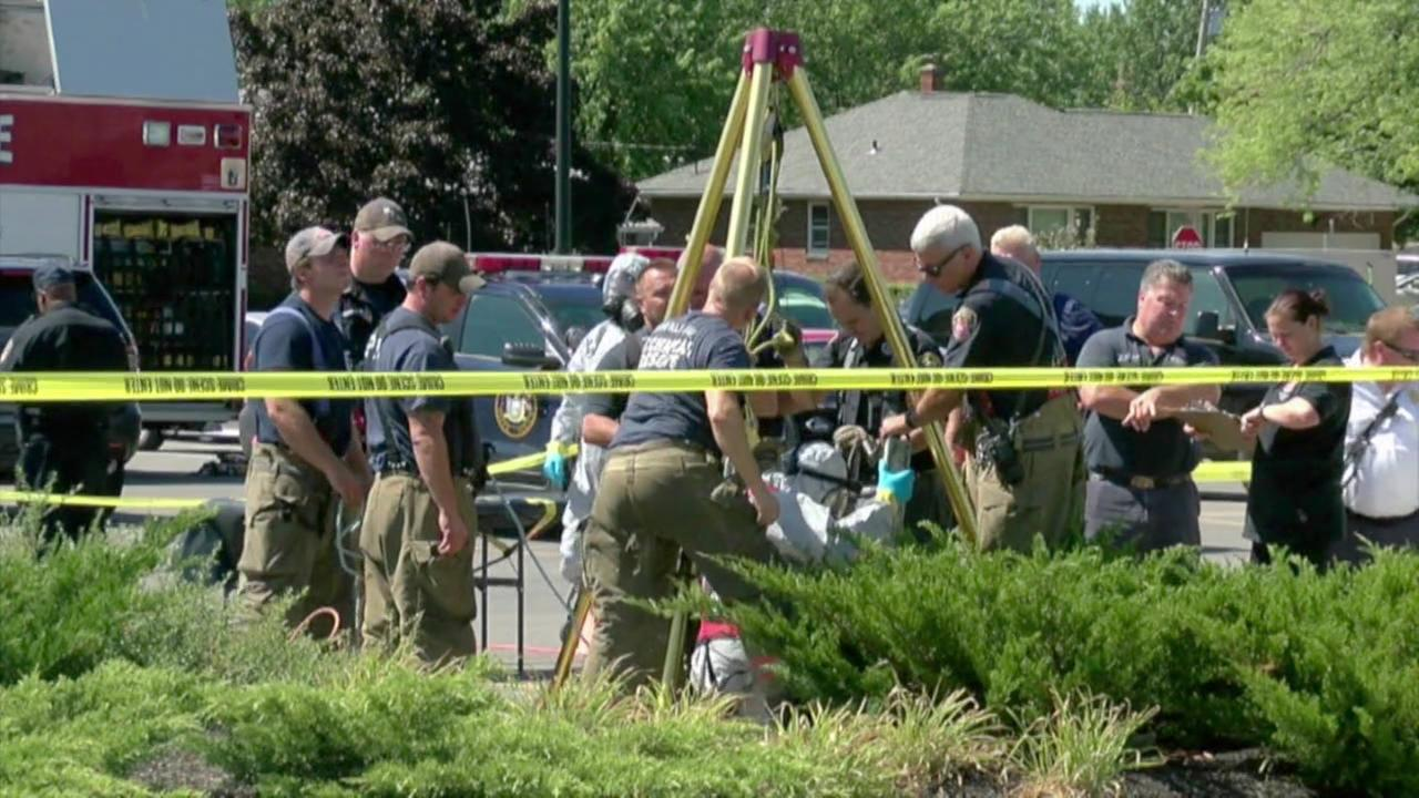 Meth lab found underneath Walmart parking lot