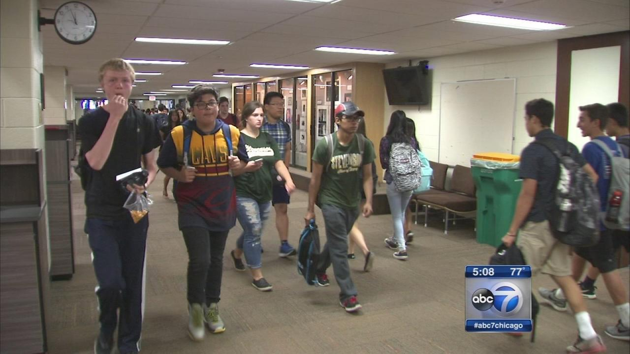 New school year brings later start at some high schools