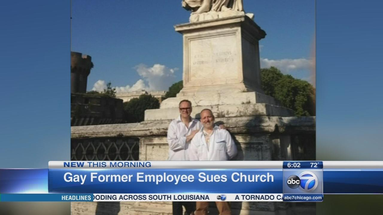 Ex employee sues Chicago archdiocese