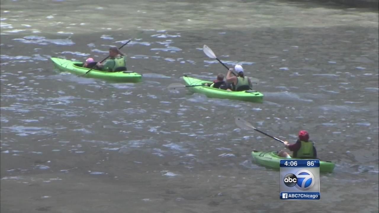 Plan to make Chicago River swimmable unveiled