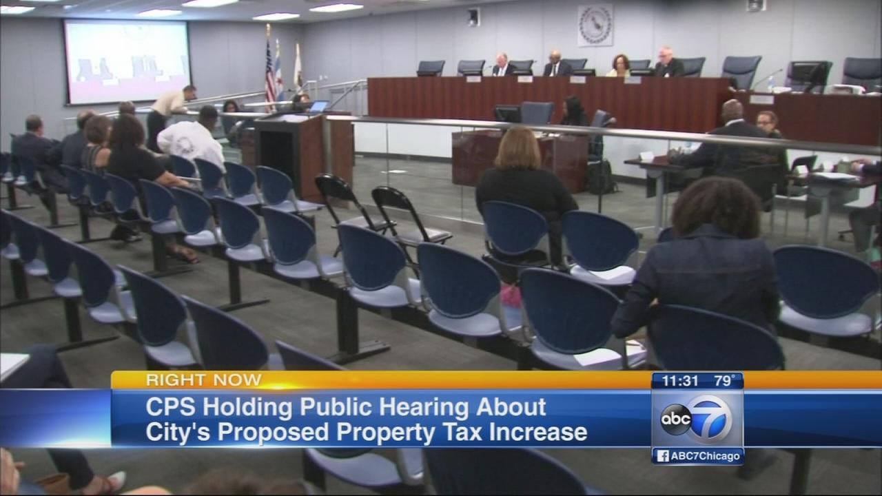 CPS holds hearing on property tax hike