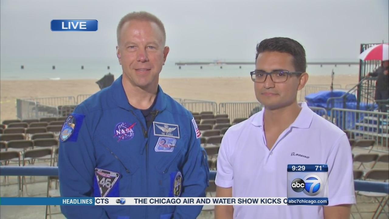 NASA at the Chicago Air and Water Show