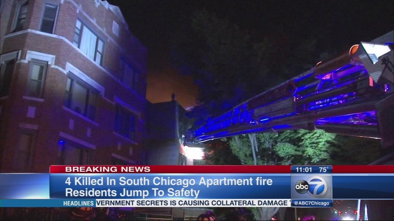 4 dead in South Chicago fire