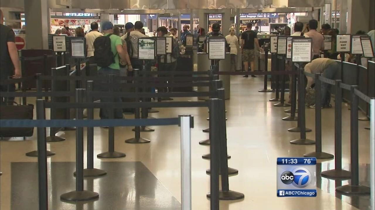 TSA wait times drop 90 percent