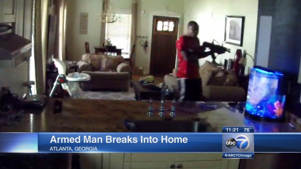 Nanny cam captures terrifying home invasion